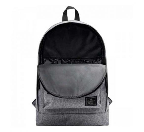 mochila de costas academie cinza 241601 2
