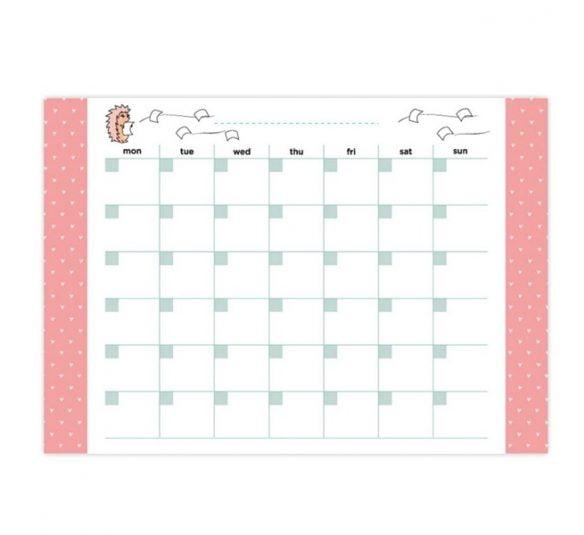planner de mesa mensal riccio otima