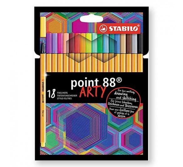 arty caneta 18 cores