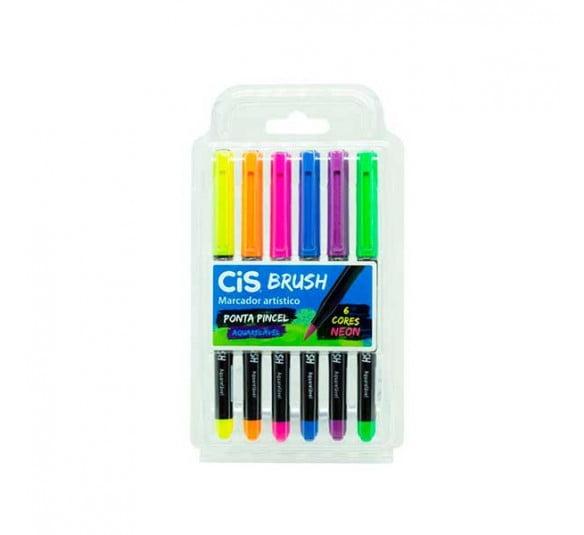 brush cis neon 6 cores 1