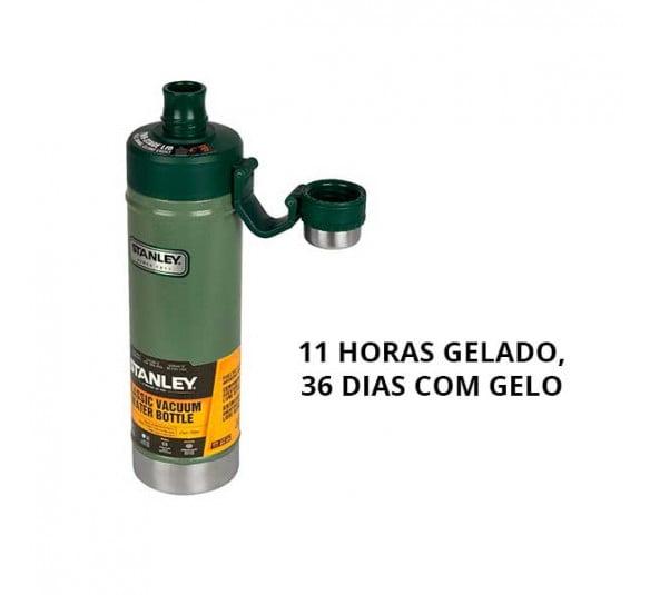 garrafa termica stanley classic green 750 ml 1