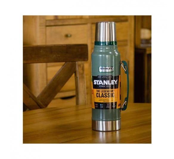 garrafa termica stanley classic navy 1l green 5