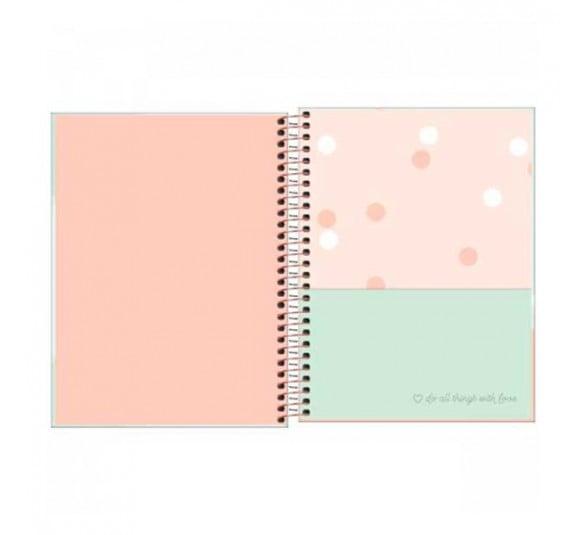 caderno espiral capa dura colegial 10 materias soho 160 folhas 291358 1