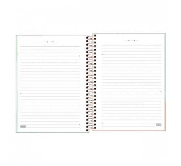 caderno espiral capa dura colegial 10 materias soho 160 folhas 291358 3