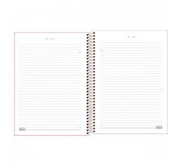 caderno espiral capa dura universitario 12 materias happy 192 folhas 305456 2
