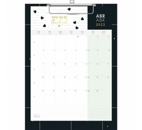 calendario prancheta west village