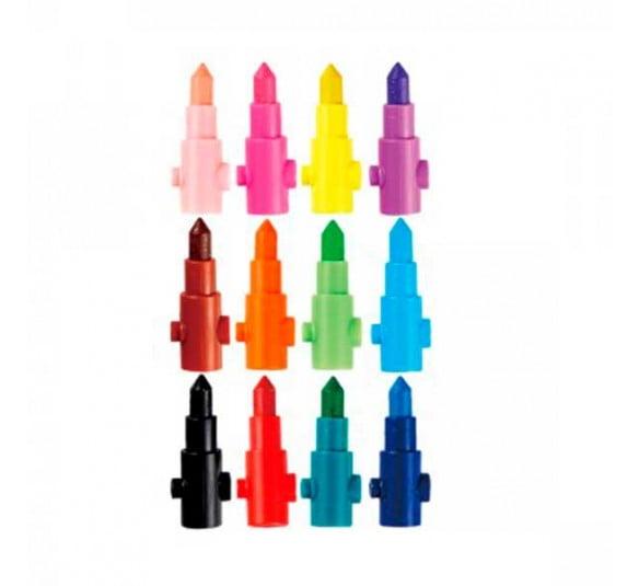 giz de cera para montar 12 cores 295736 2