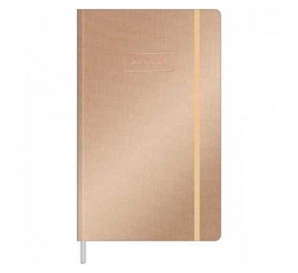caderneta costurada capa dura g pontilhada west village metalizado 80 folhas 314340 e2
