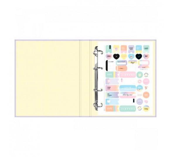 caderno argolado cartonado colegial com elastico happy 80 folhas 310280 1