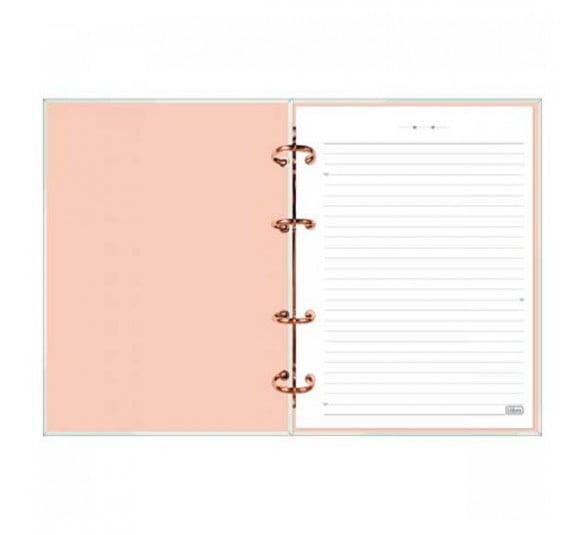 caderno argolado cartonado colegial soho 160 folhas 310301 3
