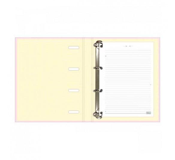 caderno argolado cartonado universitario com elastico happy 80 folhas 305626 1