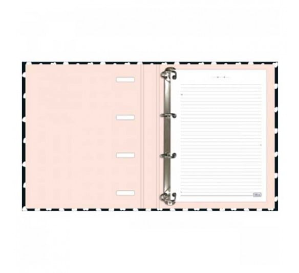 caderno argolado cartonado universitario com elastico west village 80 folhas 230472 2
