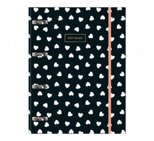 caderno argolado cartonado universitario com elastico west village 80 folhas 230472 e1