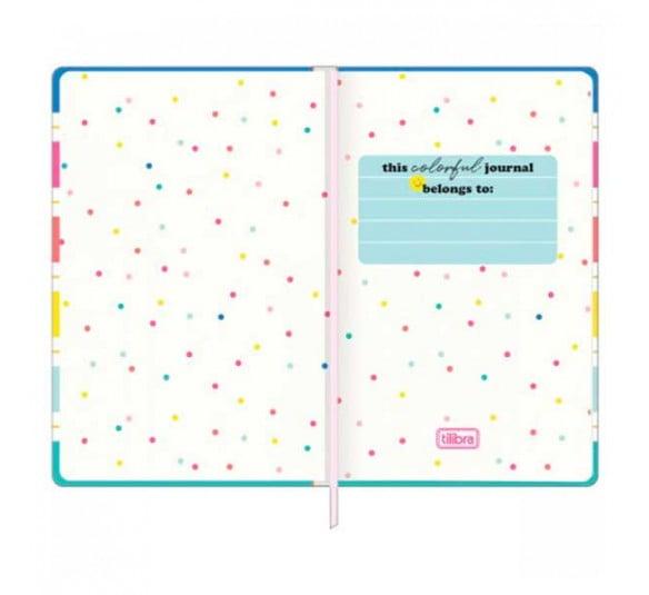 caderno pontilhado costurado capa dura fitto g be nice 80 folhas 313556 1