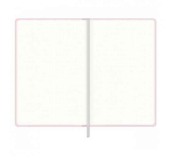 caderno pontilhado costurado capa dura fitto g happy 80 folhas 304492 2