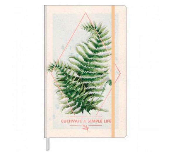 caderno sem pauta costurado capa dura fitto g naturalis 80f 316849 e3 1