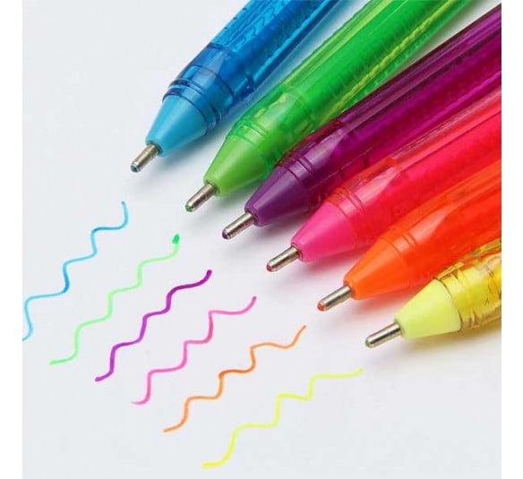 caneta trigel 6 cores 2