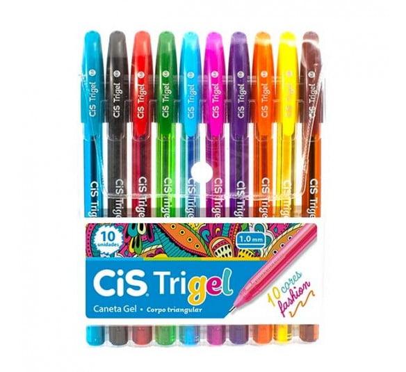 caneta trigel cores fashion cis