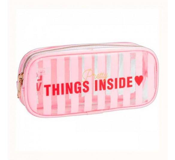estojo love pink tilibra