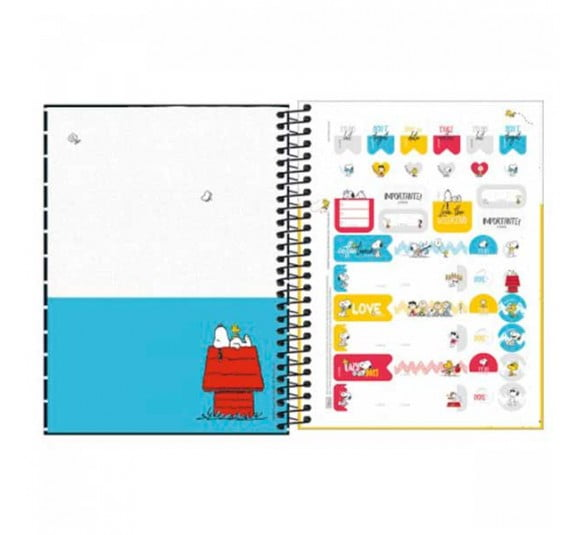 planner espiral snoopy 2021 301353 2