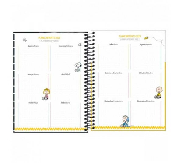 planner espiral snoopy 2021 301353 3