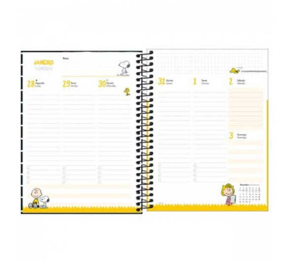 planner espiral snoopy 2021 301353 5