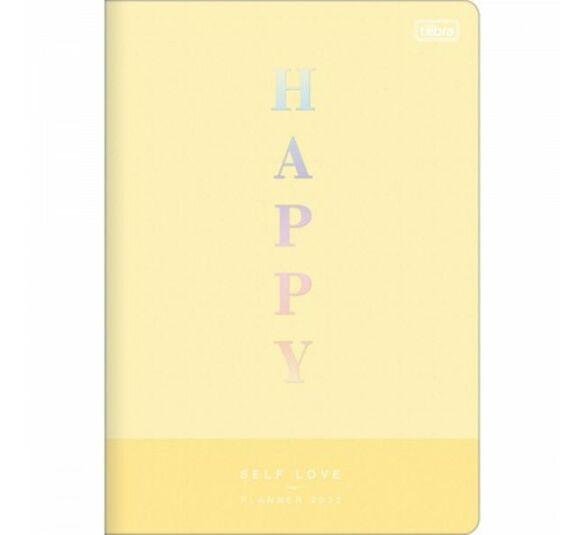 planner gramp happy amarelo