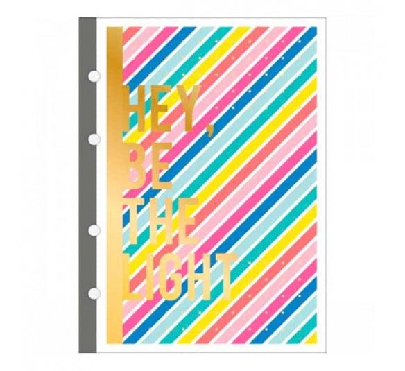 refil tiliflex para caderno argolado colegial be nice 80 folhas 316679 1