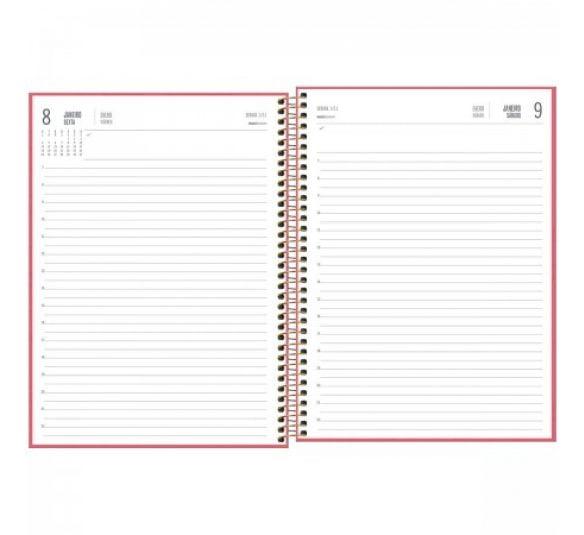agenda executiva espiral diaria de mesa spot feminina 2021 178870 2
