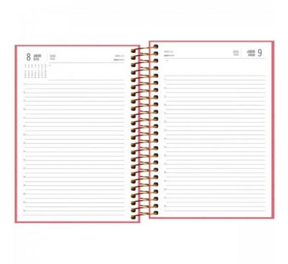 agenda executiva espiral diaria spot feminina 2021 179361 2
