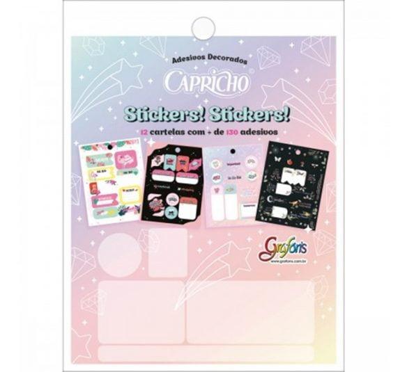 bloco de adesivos decorados capricho 12 folhas 293571 e1