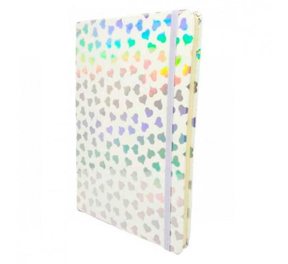 bloco de notas coracao sanxia branco