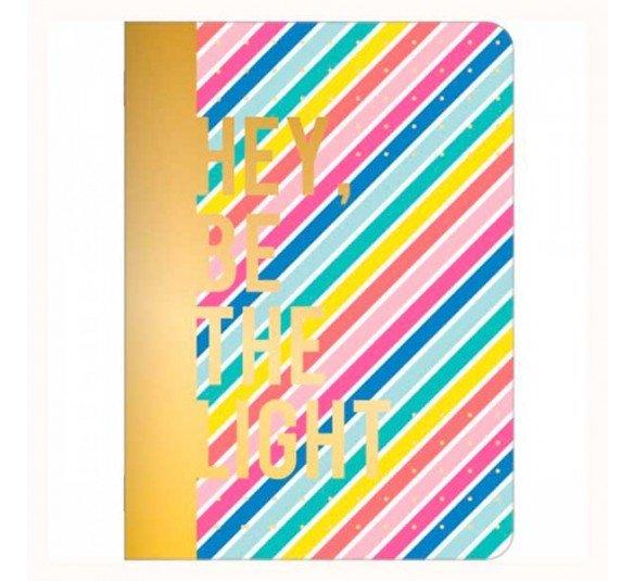caderneta grampeada be nice capa 3