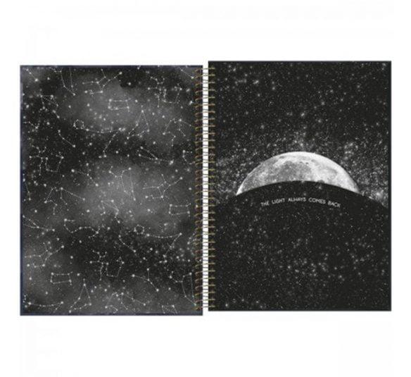 caderno espiral capa dura universitario 10 materias magic 160 folhas 294357 1