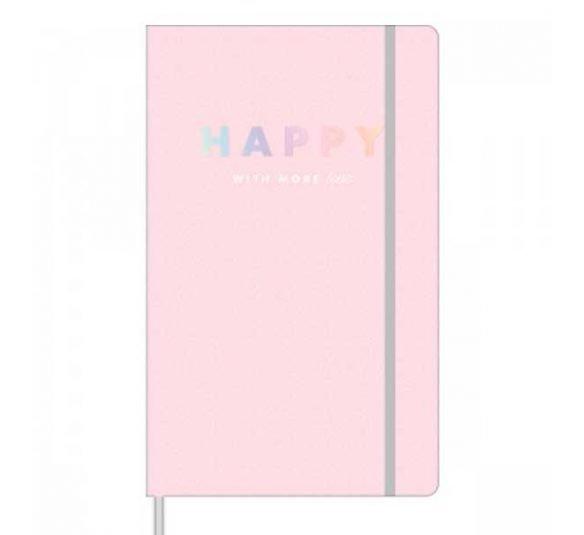 caderno pontilhado costurado capa dura fitto g happy 80 folhas 304492 e1