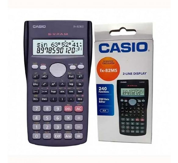 calculadora casio fx 82ms