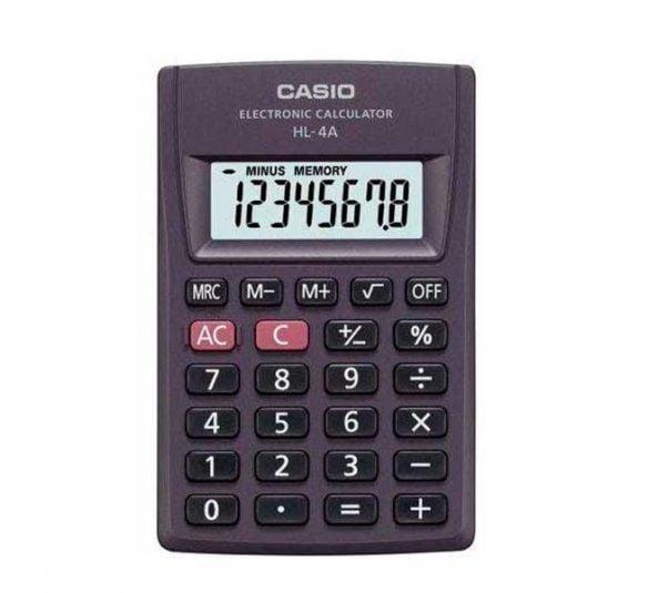 calculadora casio hl 4a