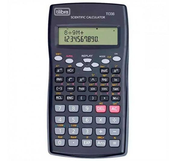 calculadora tilibra tc08