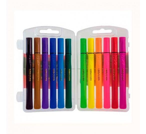 caneta hidrografica brush leo e leo todas as cores