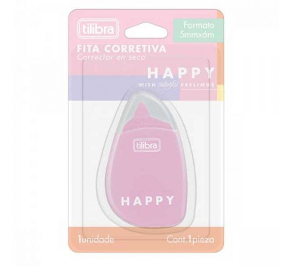 fita corretiva happy 2