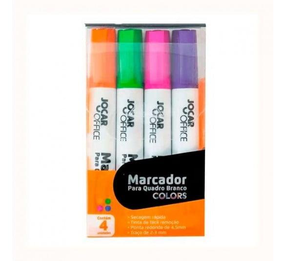 kit marcador para quadro branco leo e leo
