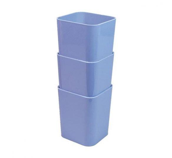 kit porta objeto dello azul
