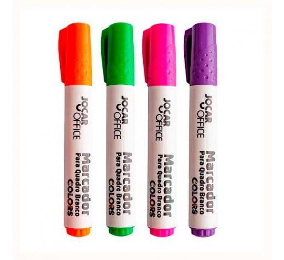 marcador para quadro branco leo e leo todas as cores