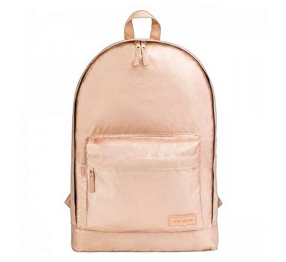 mochila de costas plus west village metalizada dourado 313769 1