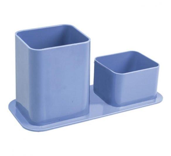 porta lapis duplo dello azul