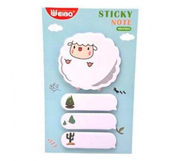 sticky note animais 3