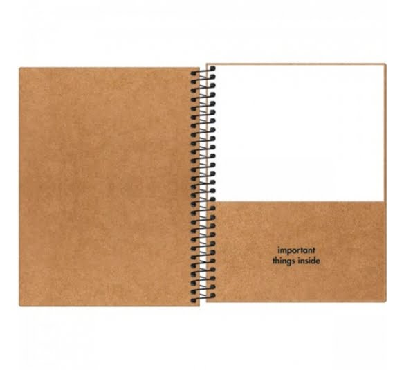 caderno capa dura colegial kraftwork 1 materia 80 folhas 315826 1