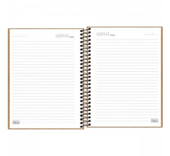 caderno capa dura colegial kraftwork 1 materia 80 folhas 315826 3