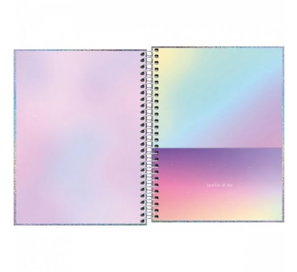 caderno capa dura colegial glow 1 materia 80 folhas 322768 1