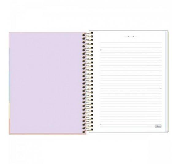 caderno capa dura colegial happy colors 10 materias 160 folhas 322733 3